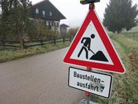 Rosenhof Baustelle