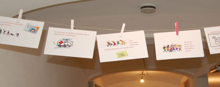Rosenhof Kinderrechte Karten