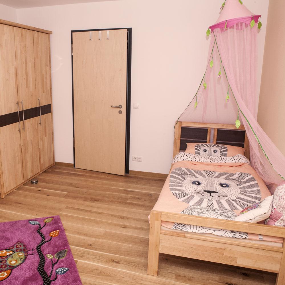 ein Schlafzimmer im Kerbhaus